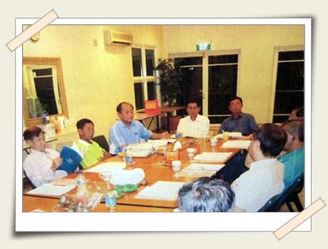 Monthly Committee Meetings 公会常月董事会进行中