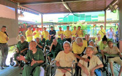 SIWMA Visit to Lee Ah Mooi Old Age Home 2019 新加坡铁厂商公会拜访李亚妹安老院 12.10.19 星期六