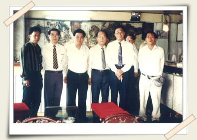Group Photo - Organised trip to Vietnam with Members (1991) <br>群体照 - 会员越南之旅(1991)