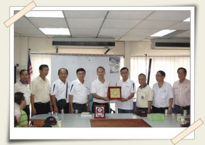Visit to the Malacca Foundry & Engineering Industries Association  <br>马六甲机器厂商公会