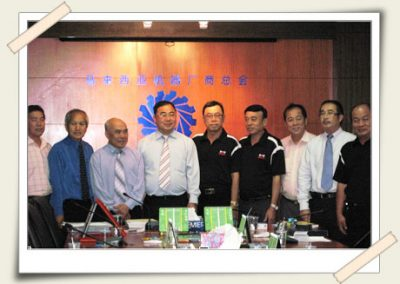 Visit to the Federation of Malaysia Foundry & Engineering Industries Association  <br>马来西亚机器厂商总会